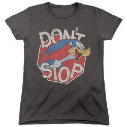 Image for Looney Tunes Woman's T-Shirt - Roadrunner Don't Stop
