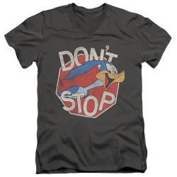 Image for Looney Tunes T-Shirt - V Neck - Roadrunner Don't Stop