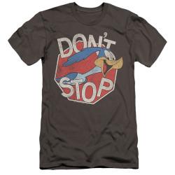 Image for Looney Tunes Premium Canvas Premium Shirt - Roadrunner Don't Stop