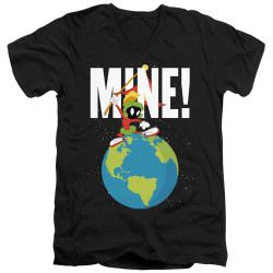 Image for Looney Tunes T-Shirt - V Neck - Marvin the Martian Mine