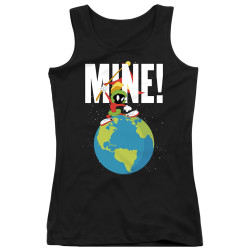 Image for Looney Tunes Girls Tank Top - Marvin the Martian Mine