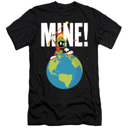 Image for Looney Tunes Premium Canvas Premium Shirt - Marvin the Martian Mine