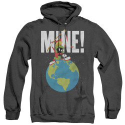 Image for Looney Tunes Heather Hoodie - Marvin the Martian Mine