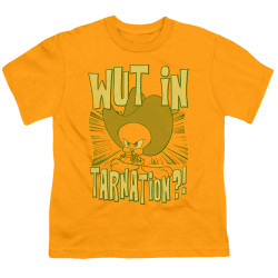 Image for Looney Tunes Youth T-Shirt - Tweetie Pie Wut in Tarnation