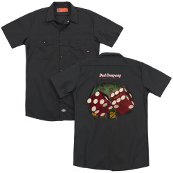 Image for Bad Company Dickies Work Shirt - Winged Straight Shooter
