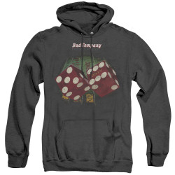 Image for Bad Company Heather Hoodie - Winged Straight Shooter