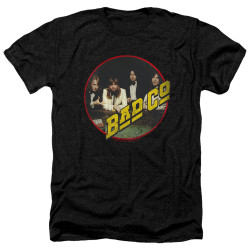 Image for Bad Company Heather T-Shirt - Winged Bad Co
