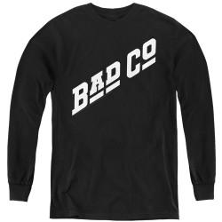 Image for Bad Company Youth Long Sleeve T-Shirt - Winged Bad Co Logo