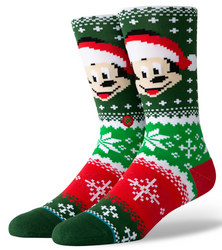 Image for Stance Socks - Mickey Mouse Mickey Claus