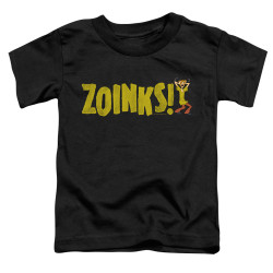 Image for Scooby Doo Toddler T-Shirt - Zoinks