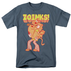 Image for Scooby Doo T-Shirt - Zoinks Repeat