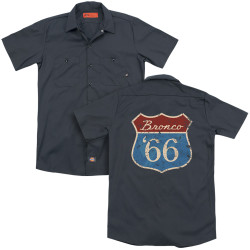 Image for Ford Dickies Work Shirt - Route 66 Bronco