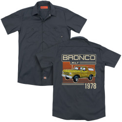 Image for Ford Dickies Work Shirt - Bronco 1978