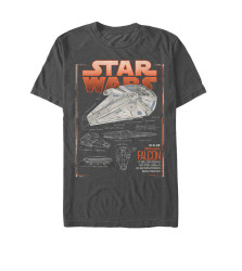 Image for Star Wars Falcon Concept T-Shirt
