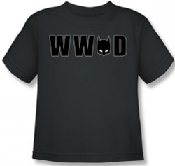 Image for Batman Youth T-Shirt - WWBD Mask