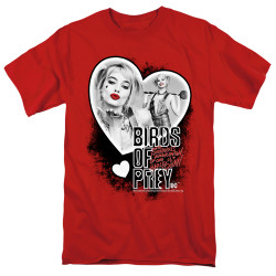 Image for Birds of Prey T-Shirt - Heart Harley