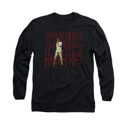 Image for Elvis Long Sleeve T-Shirt - 68 Album