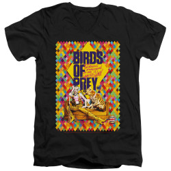 Image for Birds of Prey V Neck T-Shirt - Couch