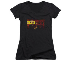 Image for Elvis Girls V Neck T-Shirt - From Elvis in Memphis