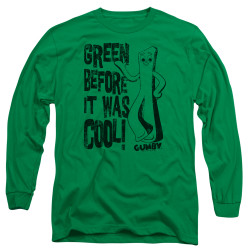 Image for Gumby Long Sleeve T-Shirt - Cool Green