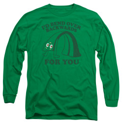 Image for Gumby Long Sleeve T-Shirt - Bend Backwards