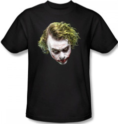 Image Closeup for Batman T-Shirt - The Dark Knight Painted Joker