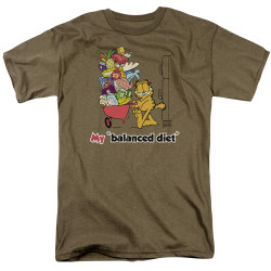 Image for Garfield T-Shirt - Balanced Diet