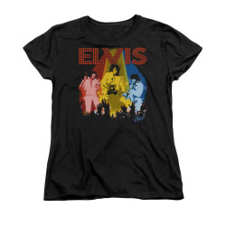 Image for Elvis Woman's T-Shirt - Vegas Remembered