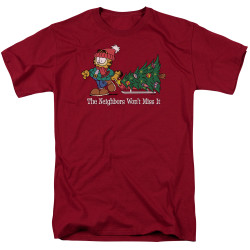 Image for Garfield T-Shirt - Won't Miss It