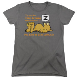 Image for Garfield Womans T-Shirt - Stay Awake
