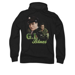 Image for Elvis Hoodie - Retro G.I. Blues