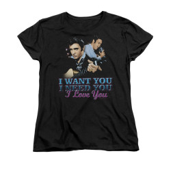 Image for Elvis Woman's T-Shirt - I Want You