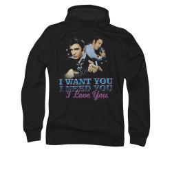 Image for Elvis Hoodie - I Want You