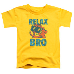 Image for Garfield Toddler T-Shirt - Relax Bro