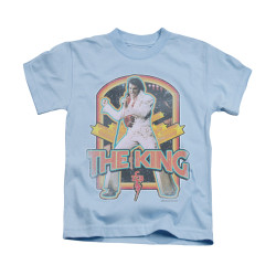 Image for Elvis Kids T-Shirt - Distressed King