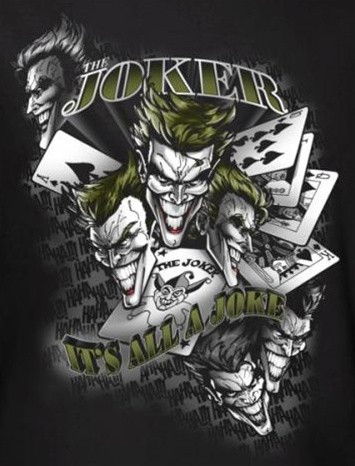 bf2a376bb39a35 Joker T-Shirt - It s All a Joke - NerdKungFu