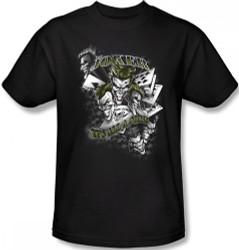 Image Closeup for Joker T-Shirt - It's All a Joke