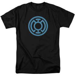 Image for Green Lantern T-Shirt - Lt Blue Emblem