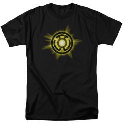 Image for Green Lantern T-Shirt - Yellow Glow