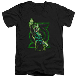 Image for Green Lantern V Neck T-Shirt - Fully Charged