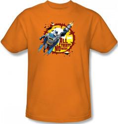 Image for Batman T-Shirt - Halloween All Treats No Tricks