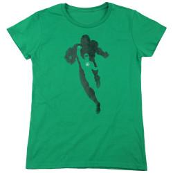 Image for Green Lantern Womans T-Shirt - Lantern Knockout