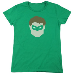 Image for Green Lantern Womans T-Shirt - GL Head