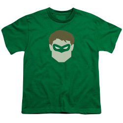Image for Green Lantern Youth T-Shirt - GL Head
