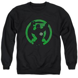 Image for Green Lantern Crewneck - GL Symbol Knockout