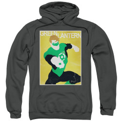 Image for Green Lantern Hoodie - Simple GL Poster