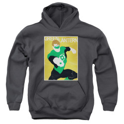 Image for Green Lantern Youth Hoodie - Simple GL Poster