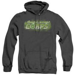 Image for Green Lantern Heather Hoodie - GL Corps Title