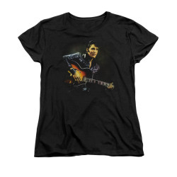 Image for Elvis Woman's T-Shirt - 1968 Guitar