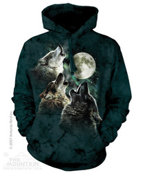Image for The Mountain Hoodie - Three Wolf Moon